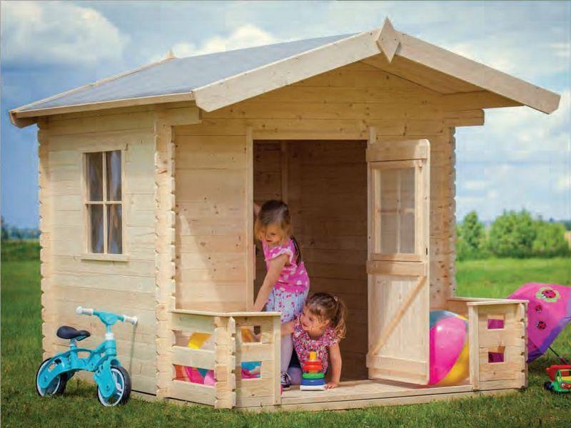 Casette bambini casetta felice 240x160x175h cm - Casetta giardino bambini ikea ...