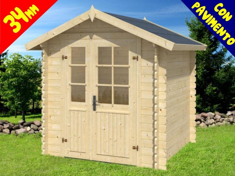 Casette Da Giardino Economiche : Casette da giardino linea economica : casetta in legno milano hq